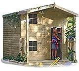 Gartenpirat Spielhaus Peter 222x220
